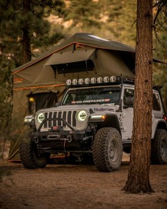 the manly life - truck tent