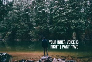 your inner voice is right part two