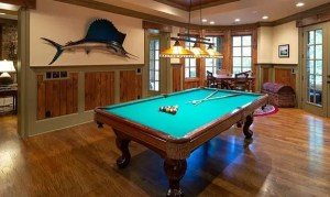 the manly life - game room