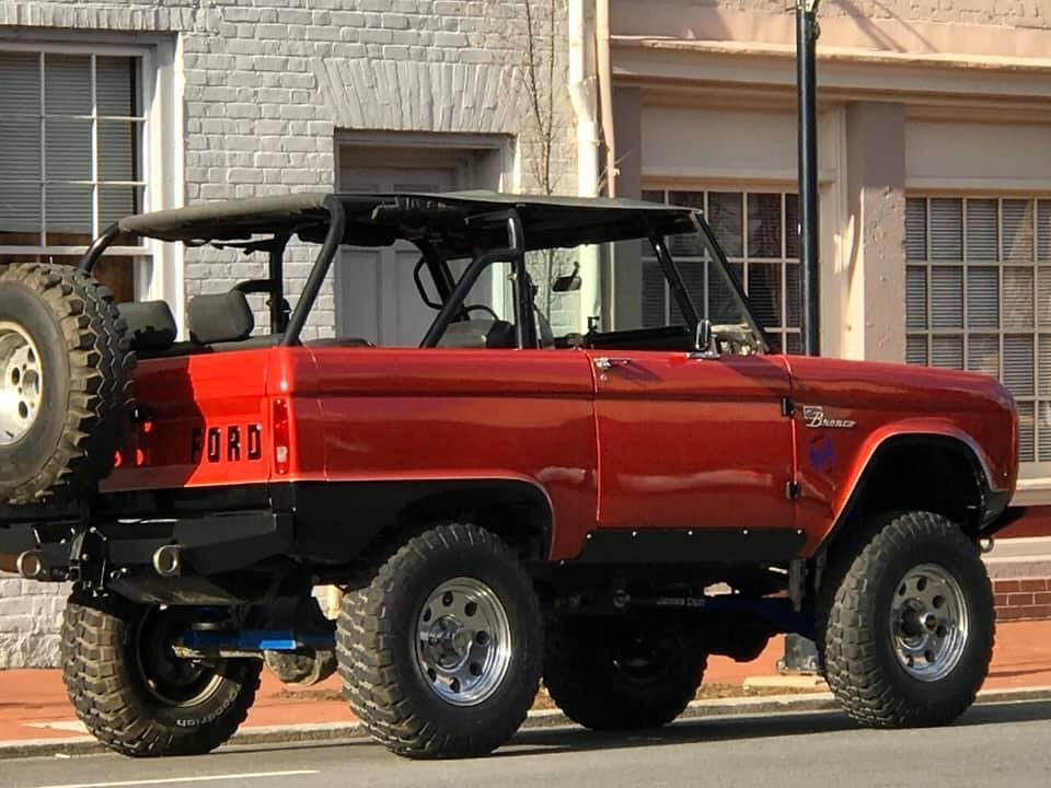 cool ford bronco