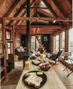 the manly life - manly cabin interior