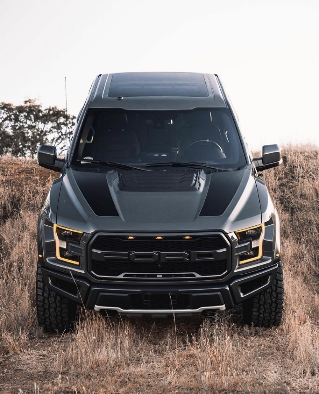front end of ford raptor