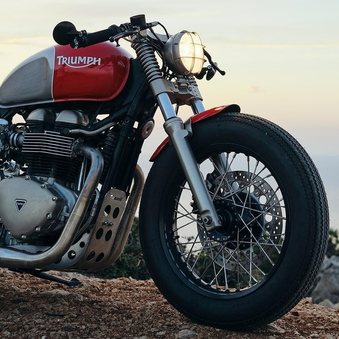 the manly life - triumph motorcycle