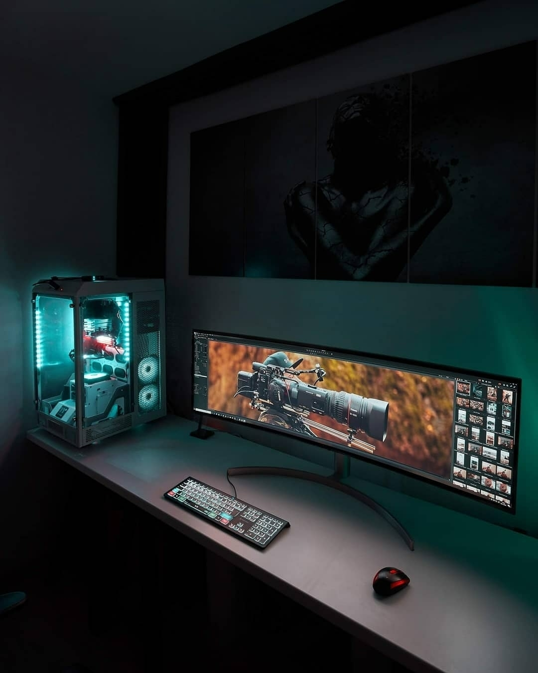 custom pc setup