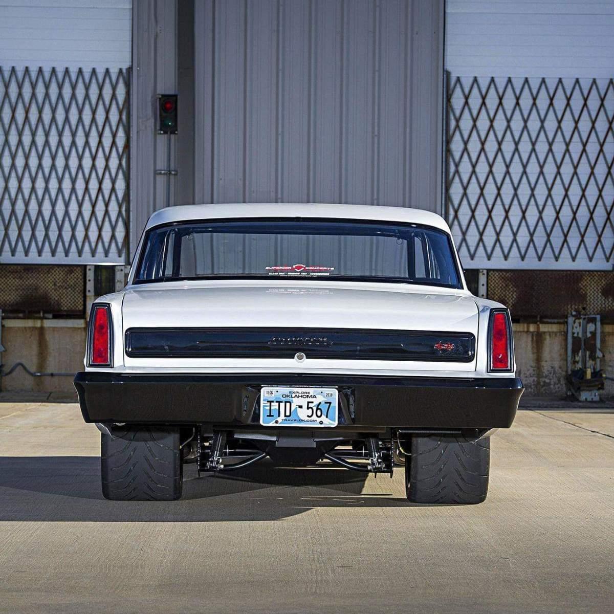 muscle car rear end