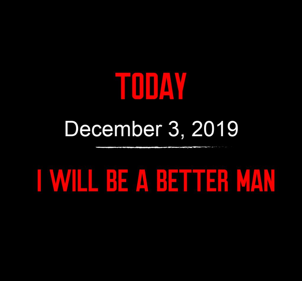 better man 12-3-19