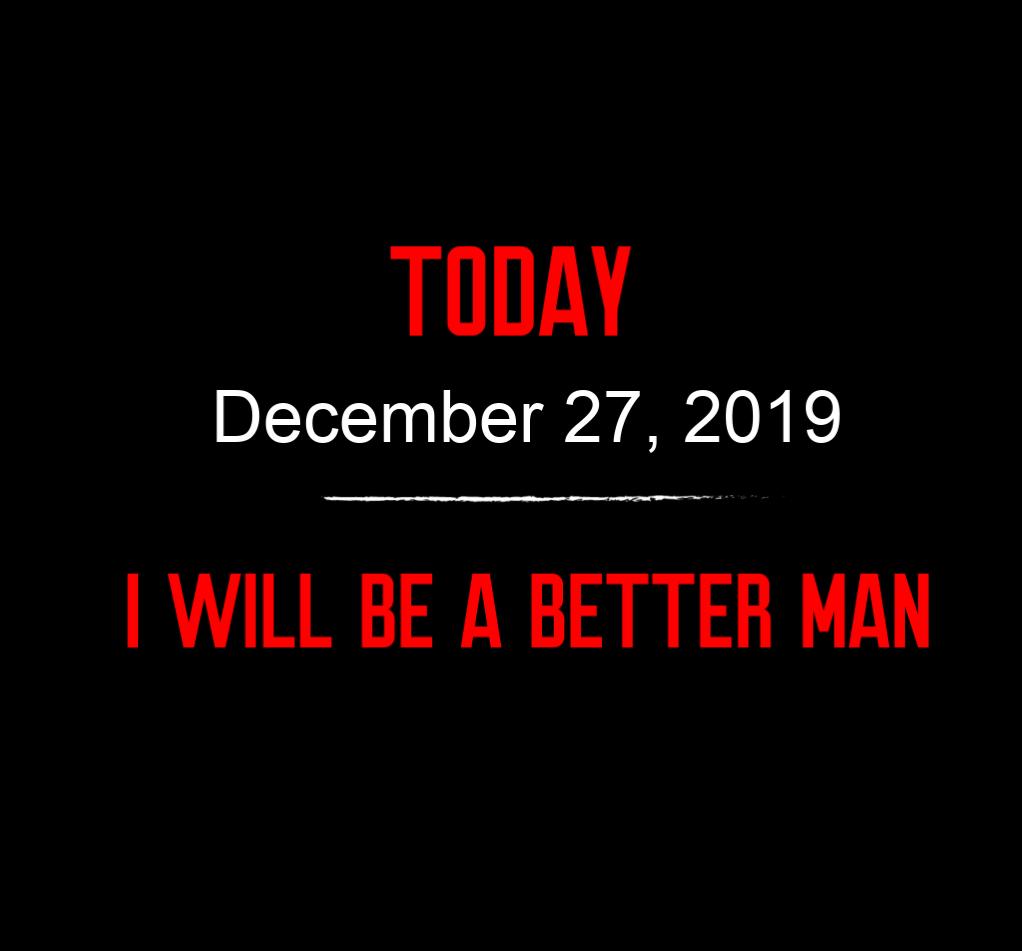 better man 12-27-19