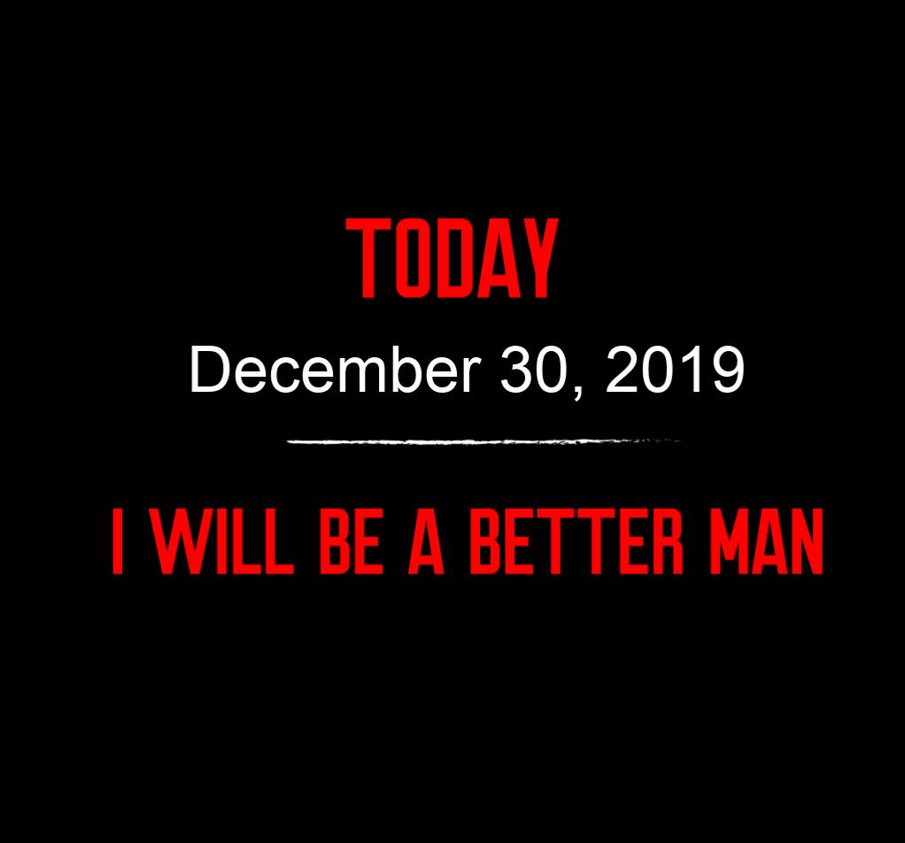 better man 12-30-19