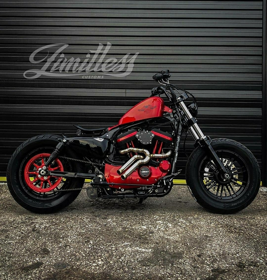 limitless customs motorcycle