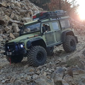 the manly life - rugged jeep on the rocks