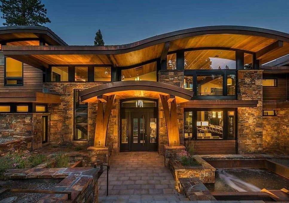 stunning home in truckee ca
