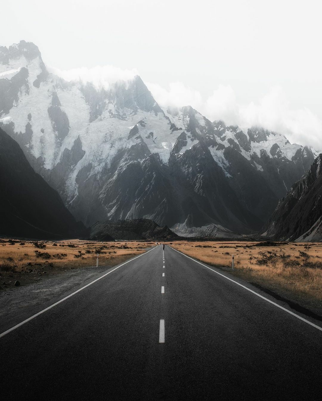 a road in New Zealand