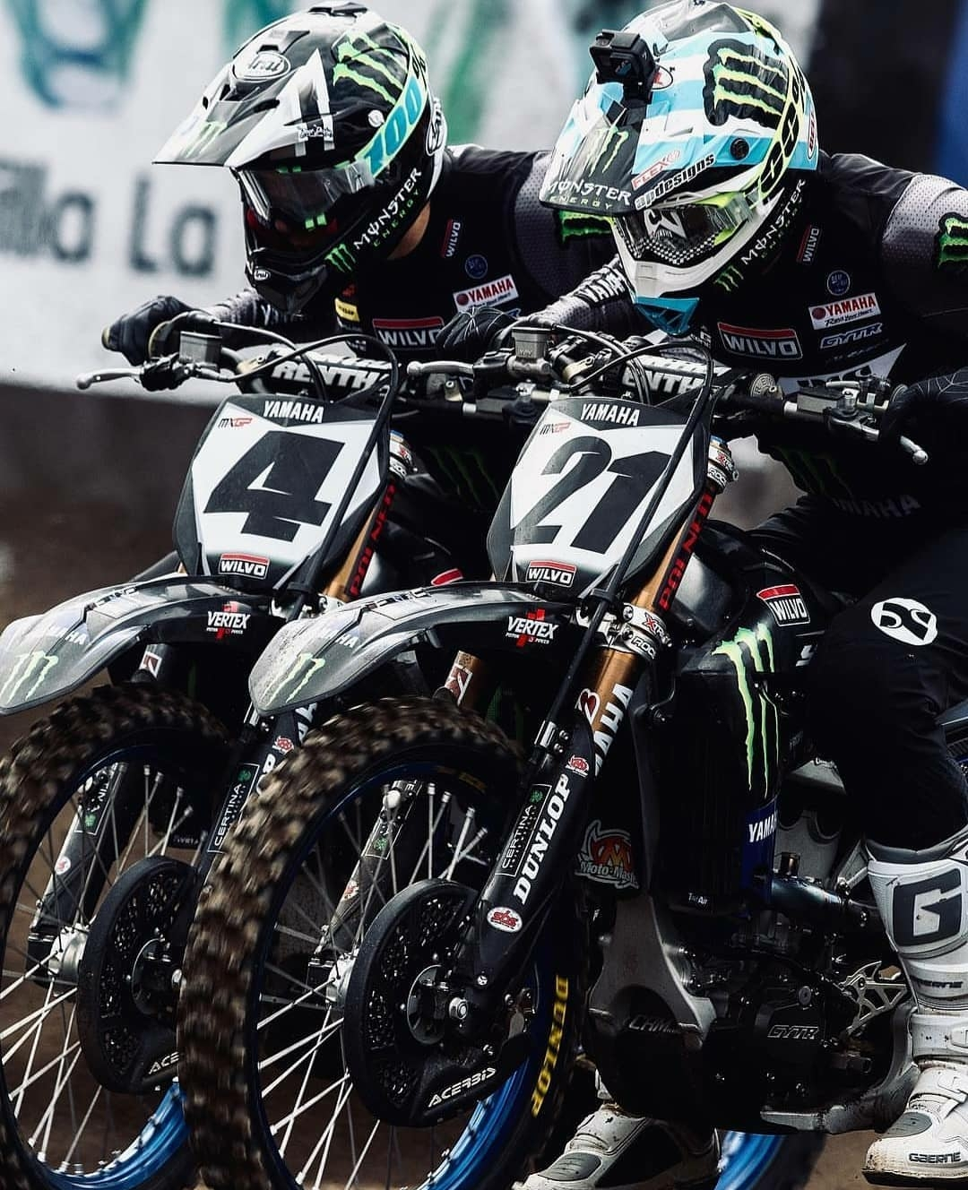 the manly life - yamaha motocross racers side by side