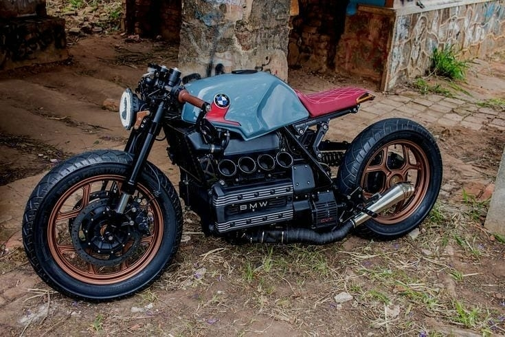 custom BMW cafe racer