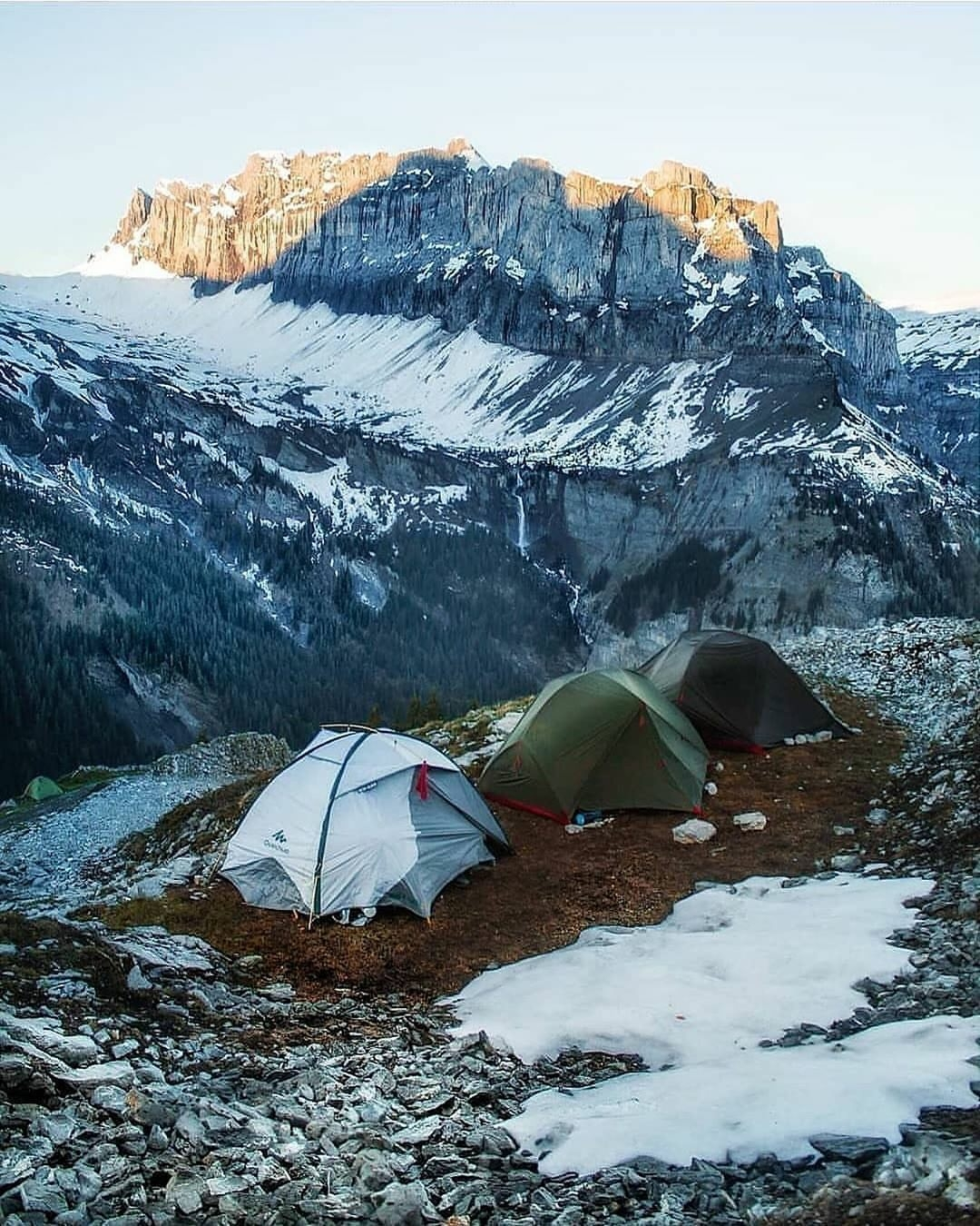 the manly life - mountain camping
