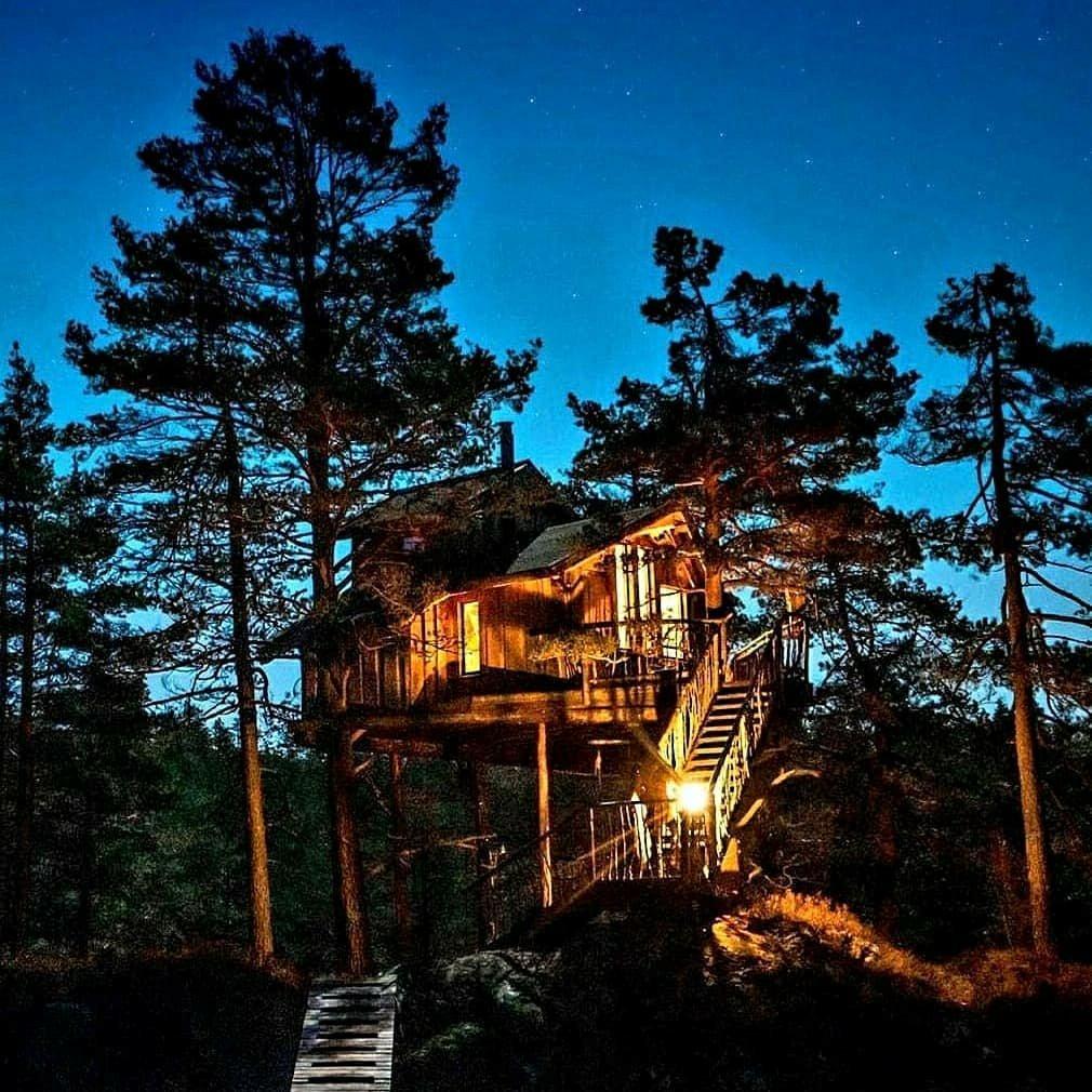 treehouse Lyngdal, Norway