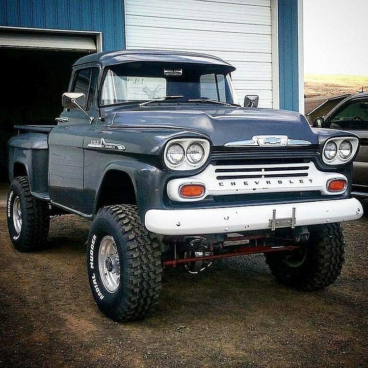 classic chevy 4x4 pickup
