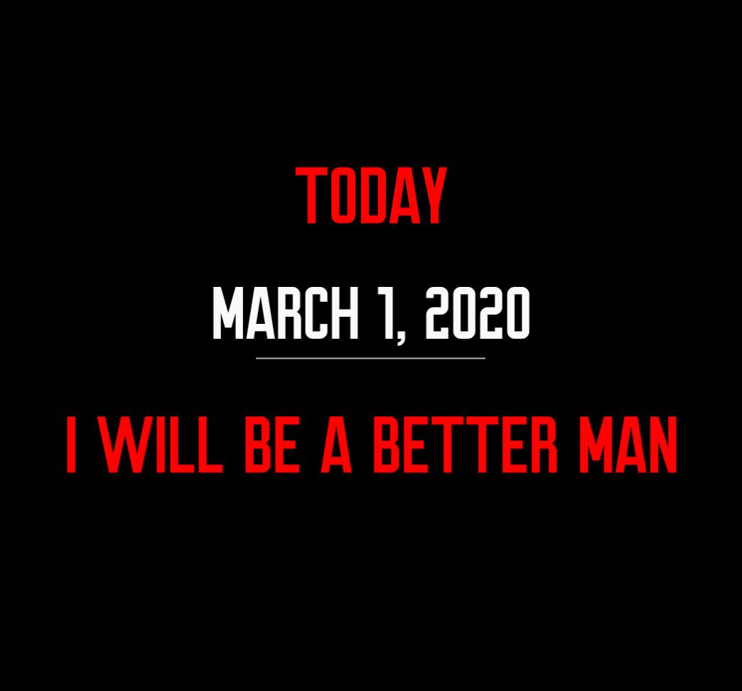 better man 3-1-20
