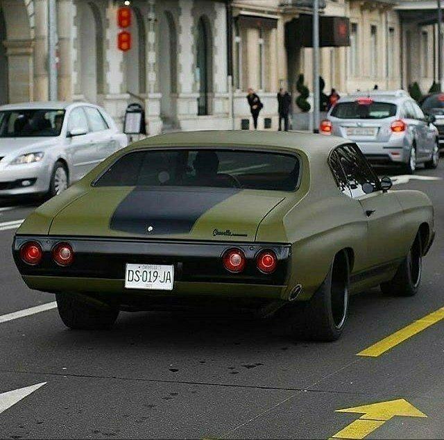 green 1970 chevelle