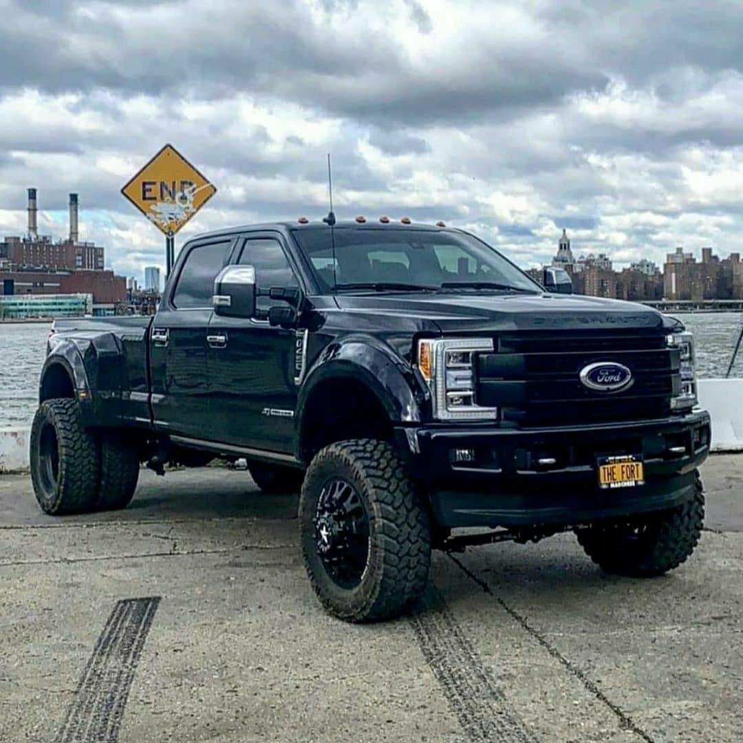 lifted dually ford f450 truck
