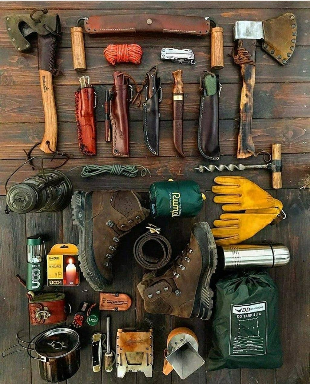 a manly collection of rugged gear