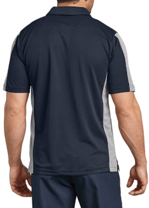 Dickies Industrial Color Block Performance Polo Shirt