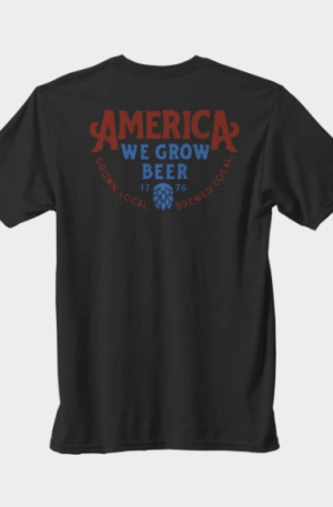 Rural Cloth We Grow Beer T-Shirt