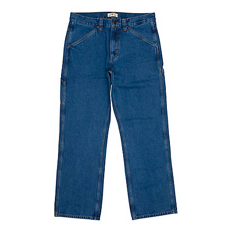 Blue Mountain Mens Denim Utility Jeans