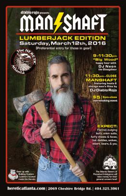 The Manshaft: Lumberjack Edition 03.12.16