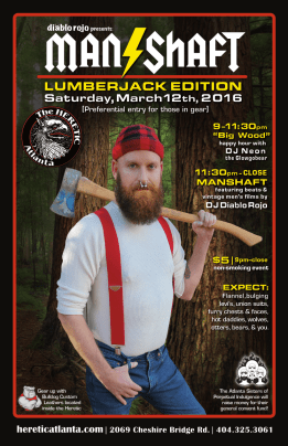 The Manshaft: Lumberjack Edition 03.12.16