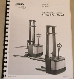 crown lift truck parts and service manual page use google custom search at bottom of page for more options  [ 1173 x 1373 Pixel ]
