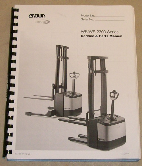 small resolution of crown lift truck parts and service manual page use google custom search at bottom of page for more options