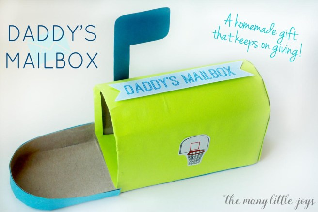 daddy s mailbox a meaningful father s day gift the many little joys
