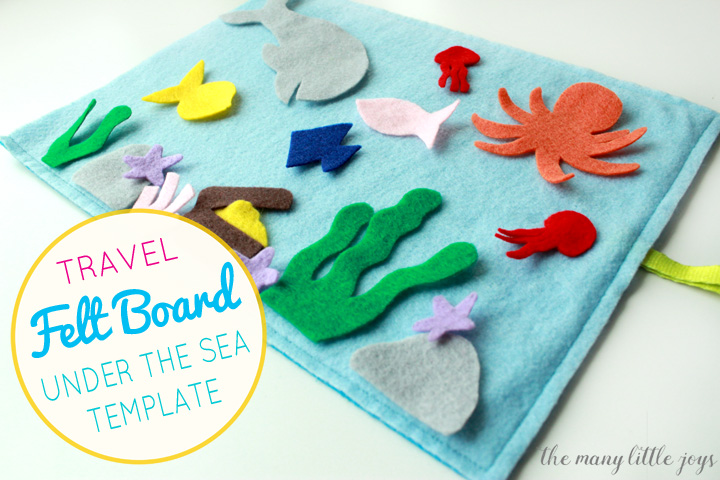 graphic regarding Under the Sea Printable named Generate felt board: \