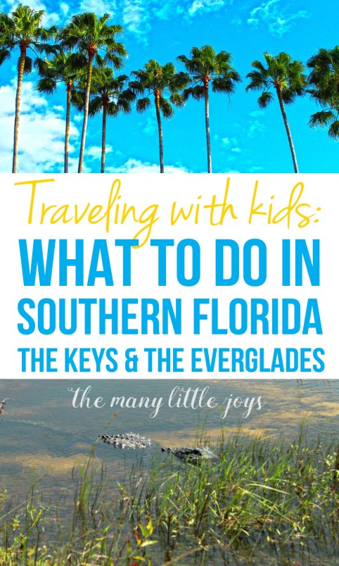 Travel with Kids - The Florida Keys and The Everglades Pin