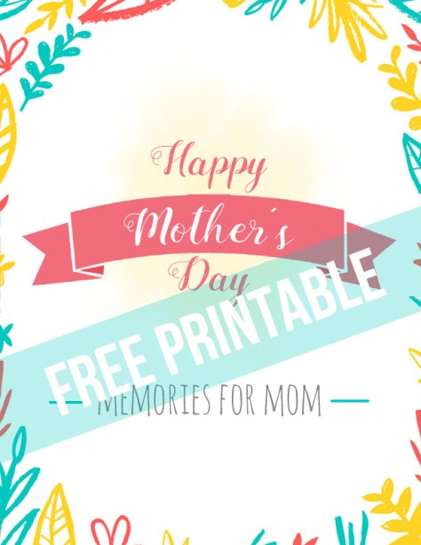 This simple Mother's Day gift would be a wonderful tradition to start. It's inexpensive, yet meaningful, so any mom is sure to love it!
