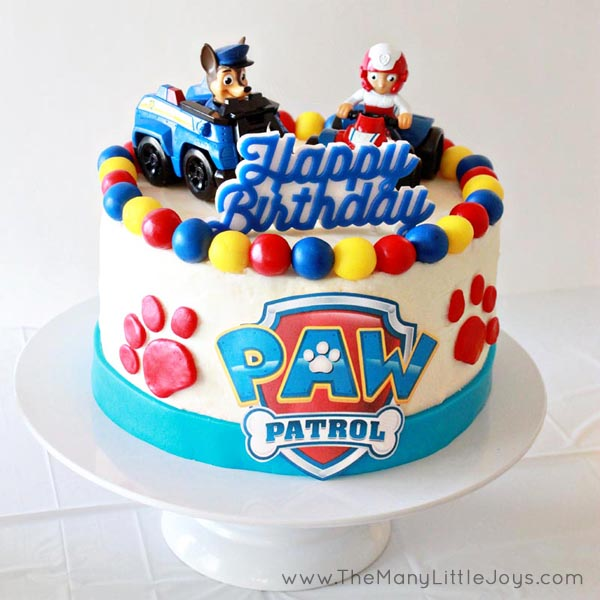 "If you have a child under five, you're probably all too familiar with Paw Patrol. Here is your complete guide to planning a pup ""paw""-fect kids' birthday party, ideal for real moms who don't want to spend a fortune to throw a great bash!"