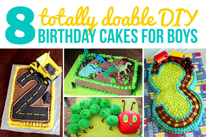 Magnificent 8 Fantastic Diy Birthday Cakes For Boys The Many Little Joys Funny Birthday Cards Online Elaedamsfinfo