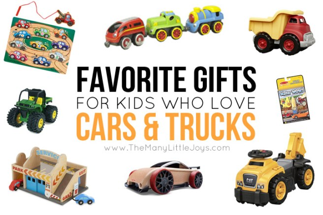 For the child in your life who loves all things that go, this gift guide for kids who love cars and trucks will give you plenty of ideas that are sure to be a hit.