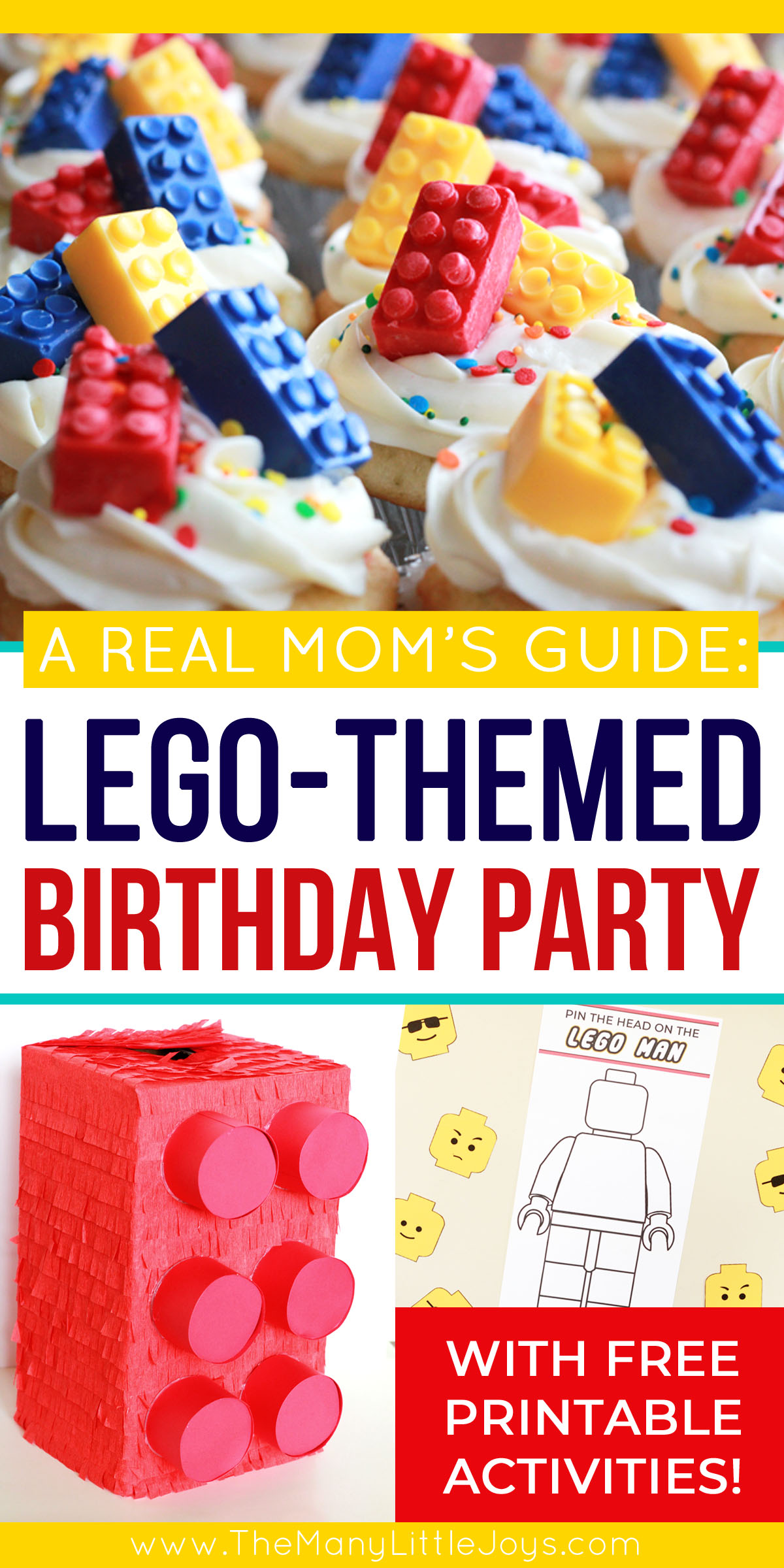 photo regarding Lego Party Printable named How in the direction of toss a Lego birthday bash: a genuine mothers direct - The