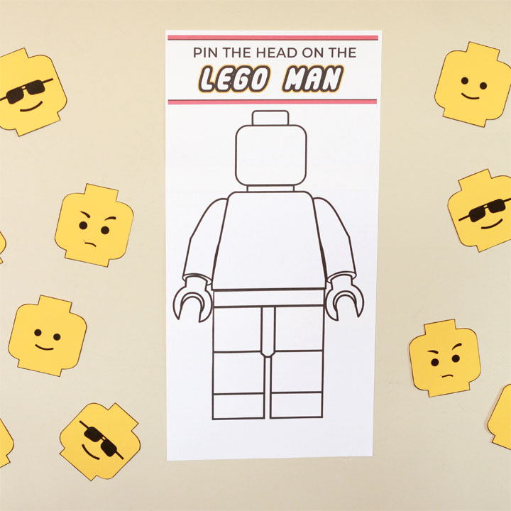 photo about Lego Head Printable referred to as How in direction of toss a Lego birthday celebration: a correct mothers expert - The