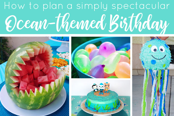 Super Ocean Themed Birthday Party A Real Moms Guide The Many Little Joys Funny Birthday Cards Online Aeocydamsfinfo