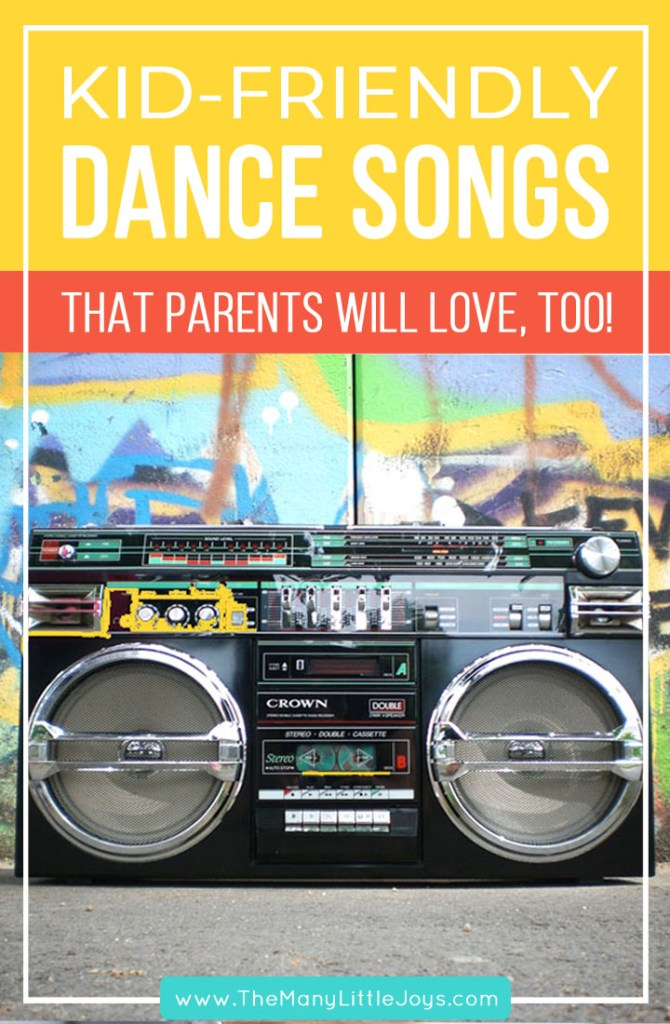 Kid-friendly songs for your next family dance party (that