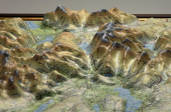Scale Size Map Scotland