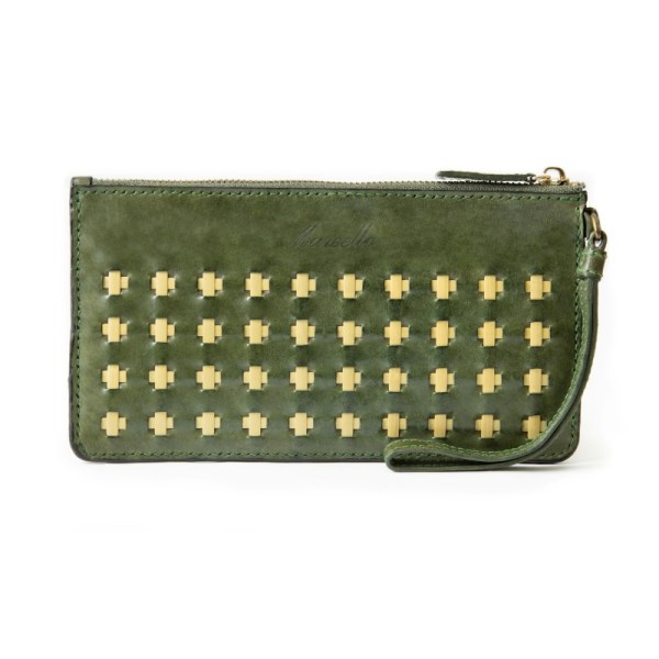 olive green clutch