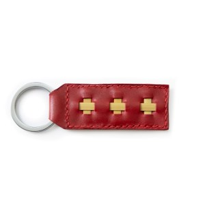 Key Rings- Ruby Red