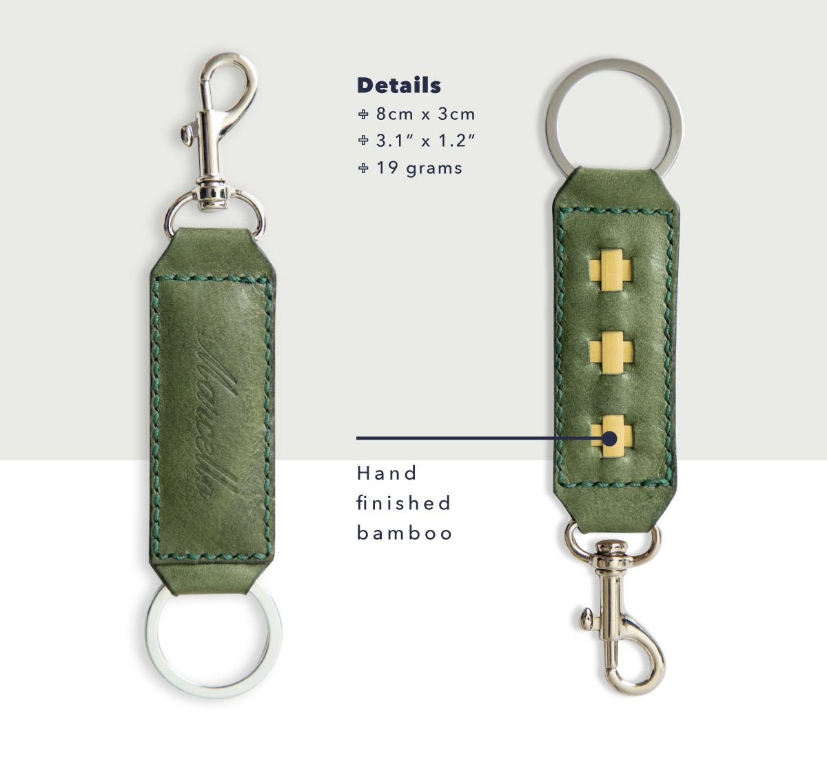concerto keyrings and clasp