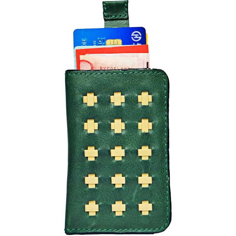 green wallet openup whole