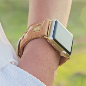 Apple Watch皮革手錶錶帶