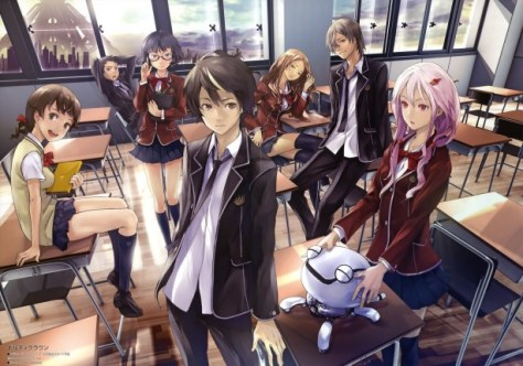Guilty Crown class cast